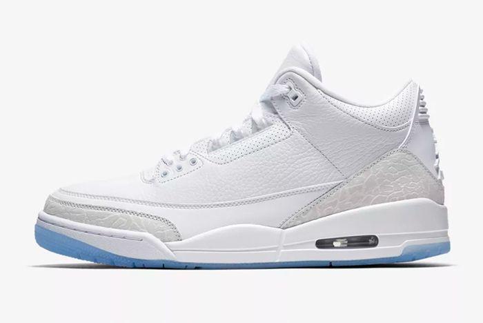 Air Jordan 3 White 9