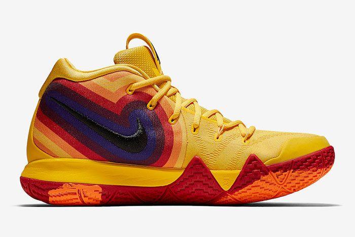 Nike Kyrie 4 Yellow Multicolor 943807 700 Release Date 1 Sneaker Freaker