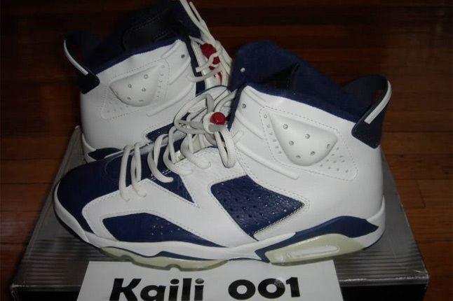 Nike Air Jordan 6 Retro Olympic 1