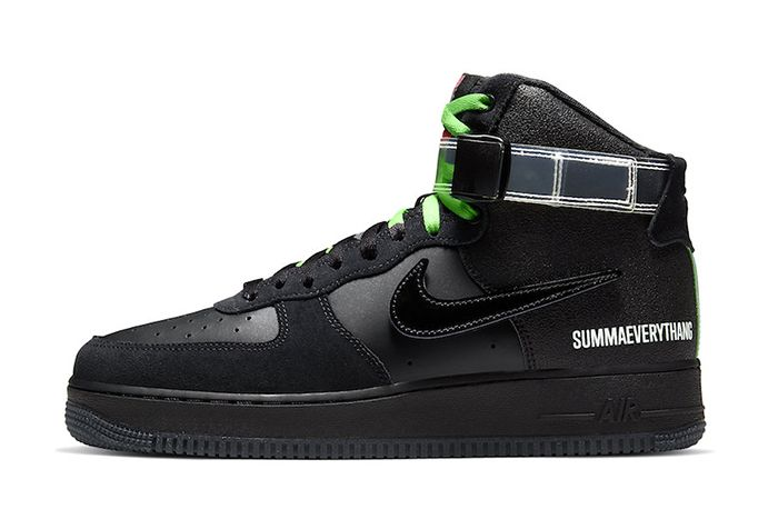 Lauren Halsey Nike Air Force 1 High Cu3052 001 Release Date Lateral