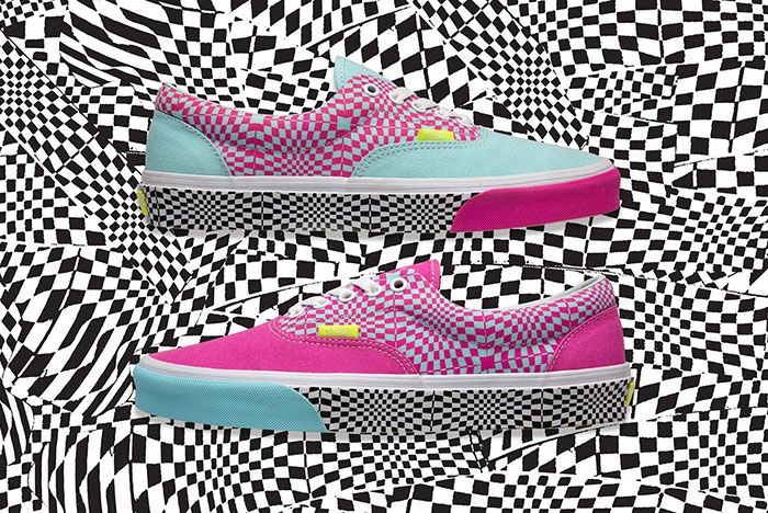 Vans Size Era Warped Lateral Pair
