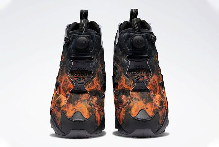 Reebok Instapump Fury Flames Toe