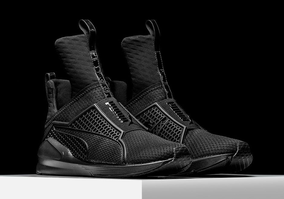 Rihanna Puma Fenty Trainer Blackout 3