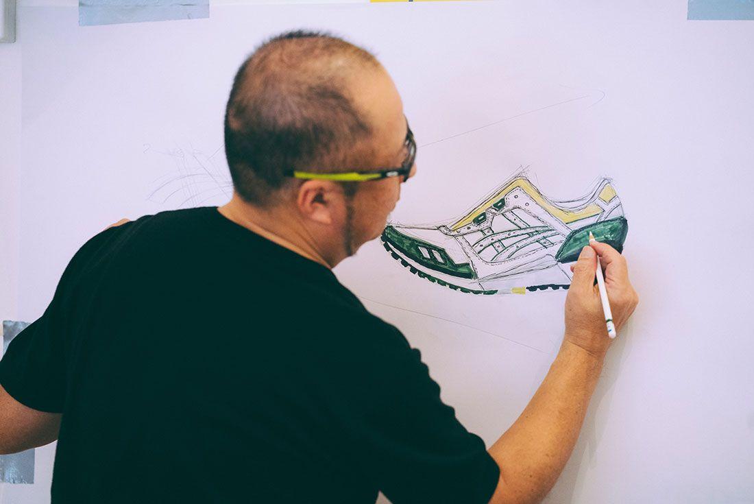 Asics Gel Lyte Iii 30Th Anniversary Sneaker Sketching Masterclass Drawing
