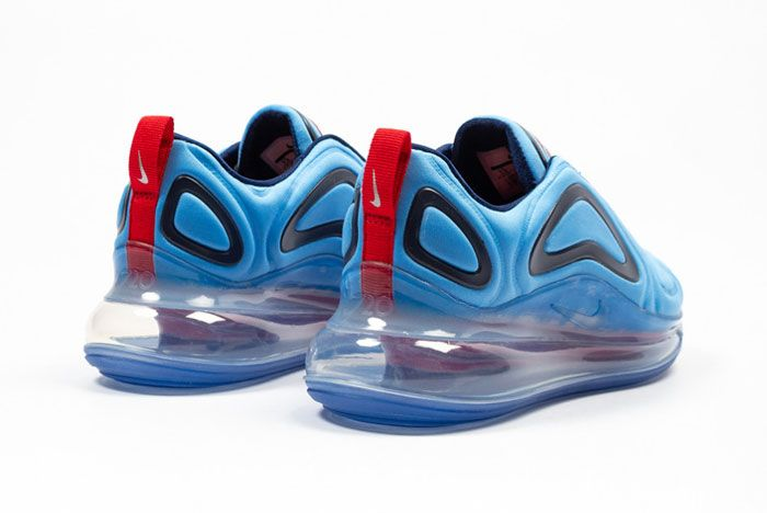 Nike Air Max 720 Blue Void Back Side