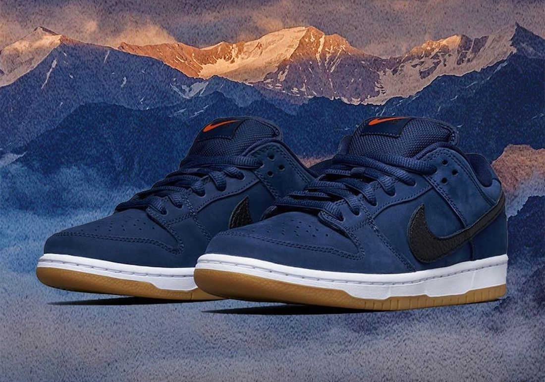 Nike SB Dunk Low Pro ISO 'Navy Gum'