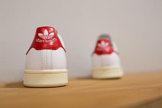 Adidas Stan Smith White White Red 3