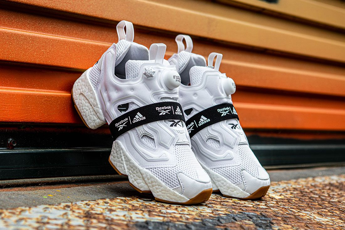 Reebok Adidas Instapump Fury Boost Black And White Pack Exclusive Sneaker Freaker Shot5
