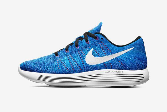 Nike Lunar Epic Low Flyknit Racer Blue
