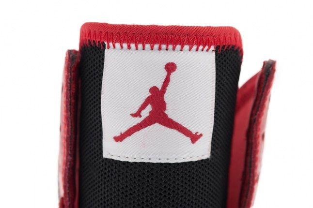 Air Jordan1 Skinny High Gymred Blk Wht Tongue Detail 1