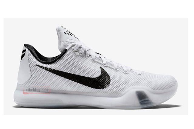 Nike Kobe 10 Black White Preview 2