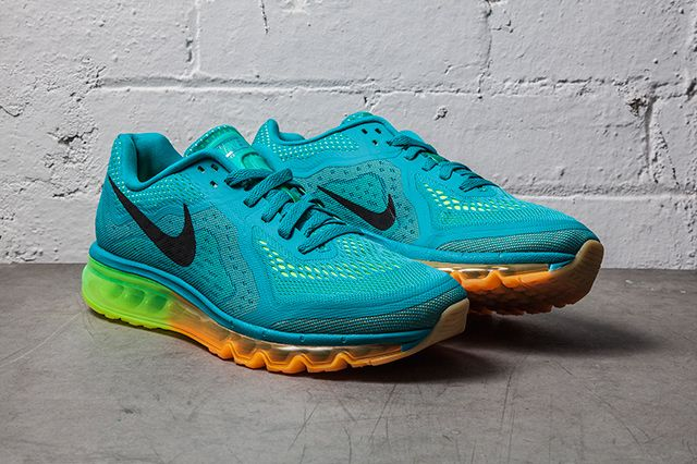 Nike Air Max 2014 Turbo Green Atomic Mango 4