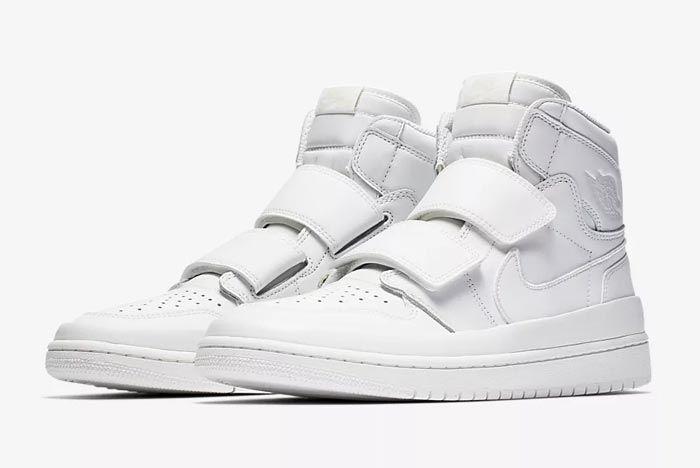Air Jordan Double Strap White 3