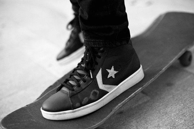 Converse Cons Pro Leather Skate Trash Talk 1
