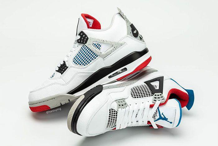 Air Jordan 4 What The Left