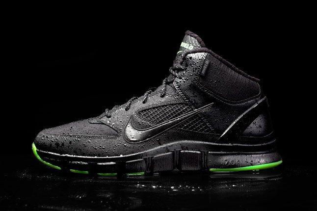 Black Nike Free Trainer 7 0 Shield Profile 1