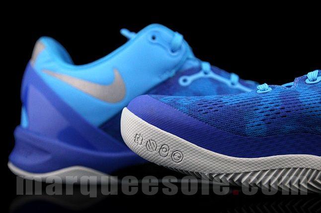 Nike Kobe 8 Aqua Camo Heel Toe 1