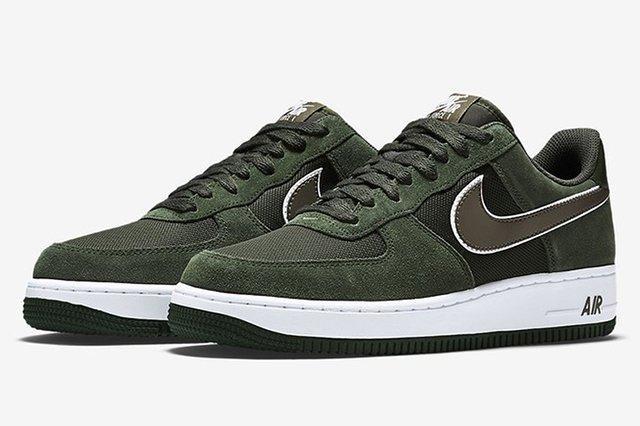 Nike Air Force 1 Hunter Green2