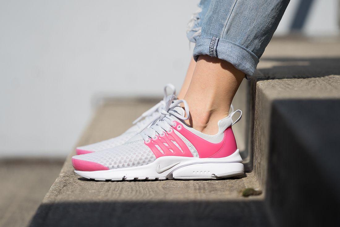 Nike Presto Breathe Gs Pure Platinum2