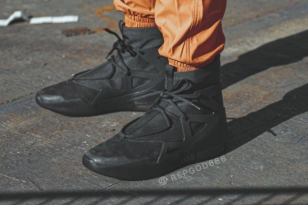 On-foot look at Jerry Lorenzo's Air Fear of God 1