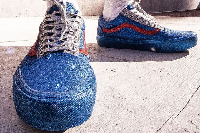 Opening Ceremony X Vans Old Skool Glitter Pack 1