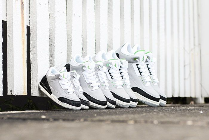 Air Jordan 3 Chlrophyll Jd Sports Sneaker Freaker5