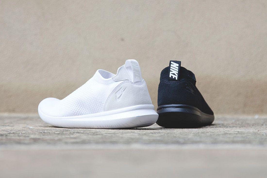 Nike Gakou Flyknit Triple Black White 6