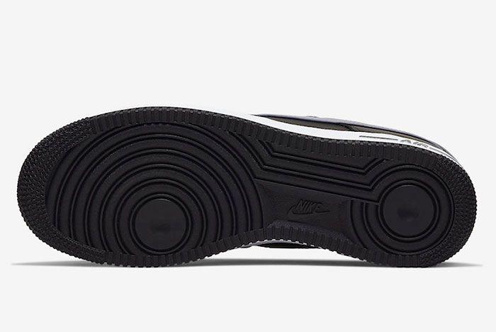 Nike Air Force 1 Low Black Wolf Grey Cj8731 001 Release Date 1 Sole