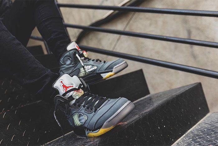 Off White Air Jordan 5 Toe