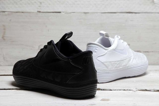 Nike Solarsoft Moc Qs Black White Pack 3