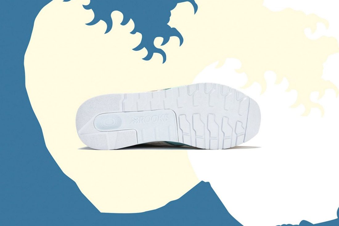 Pink Dolphin Brooks Regent Great Wave 3