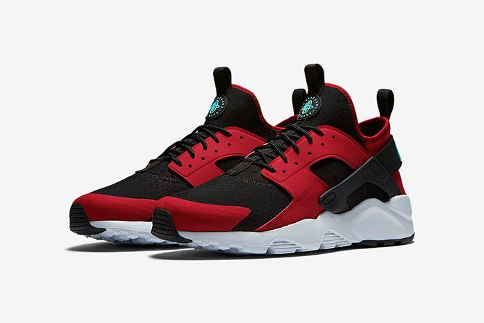 Nike Huarache Ultra Red Black 1