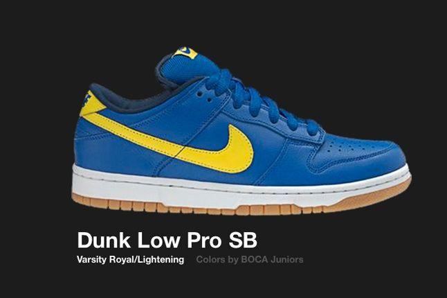 Nike Dunk Low Sb Boca Jnrs 2005 1