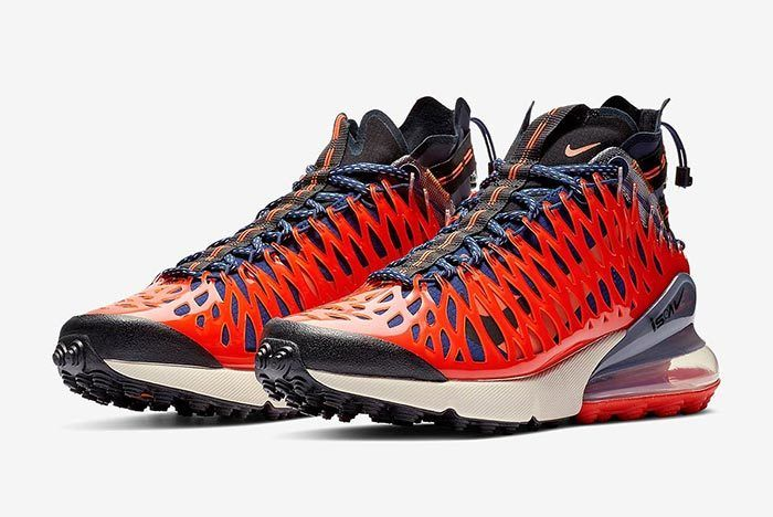 Nike Ispa Air Max 270 Terra Orange 4