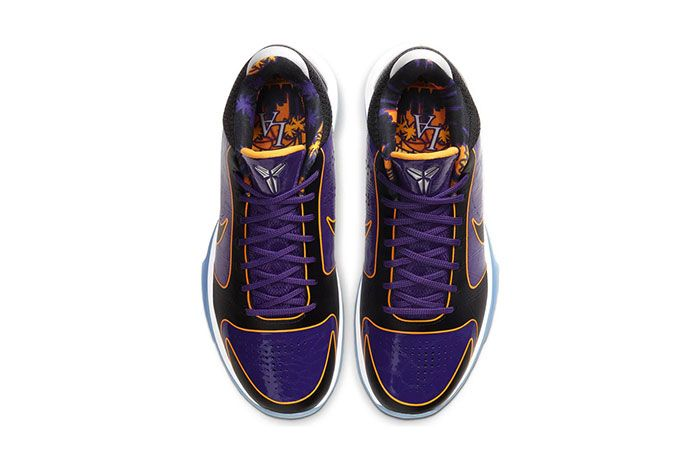 Nike Kobe 5 Protro Lakers On Foot Top