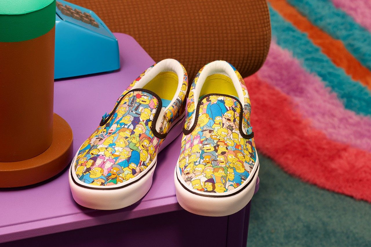 vans x the simpsons 30 year collaboration