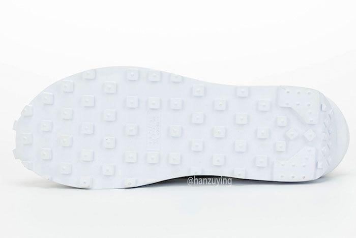 Sacai Nike Ldwaffle White Nylon Sole