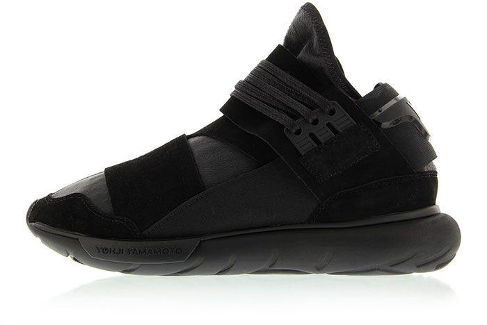 Adidas Y 3 Qasa High Triple Black 7
