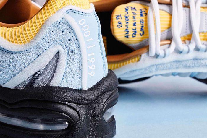Sneakersnstuff Nike Air Max Tailwind 4 Iv 20Th Anniversary Ck0901 400 Release Date Heel