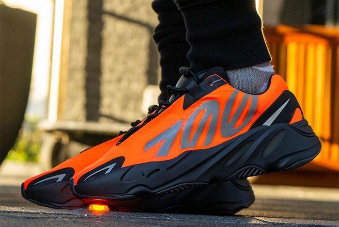 Adidas Yeezy Boost 700 Mnvn Orange Left