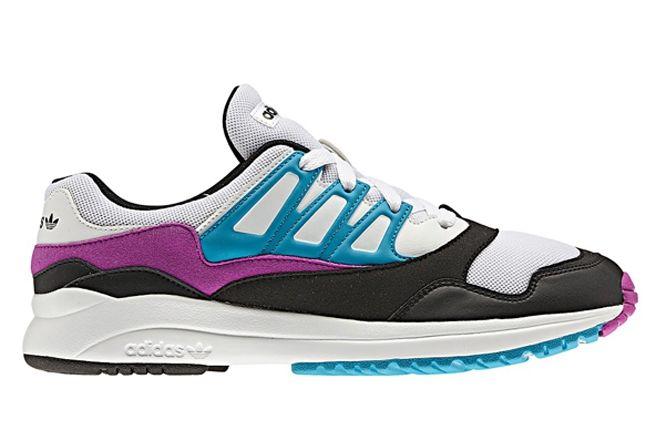Adidas Torsion Allegra Grey Pink Blue Second Profile 1