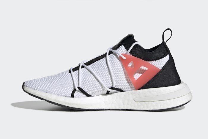 Adidas Arkyn White Black Red Medial