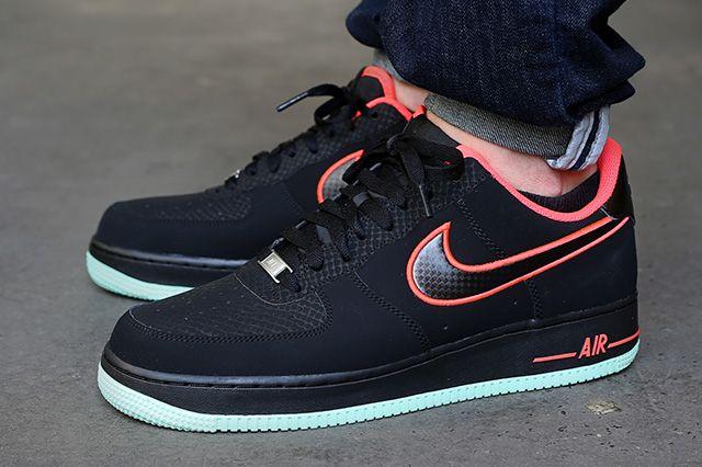 Nike Air Force 1 Low Laser Crimson Arctic Green