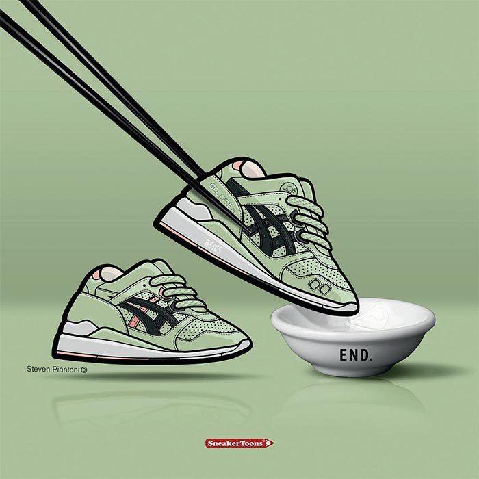 Sneaker Toons End Asics