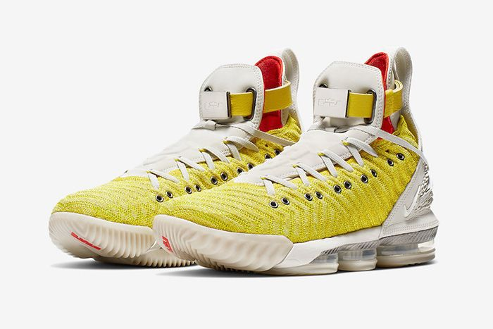 Harlems Fashion Row Nike Lebron 16 Bright Citron Ci1145 700 Release Date Pair