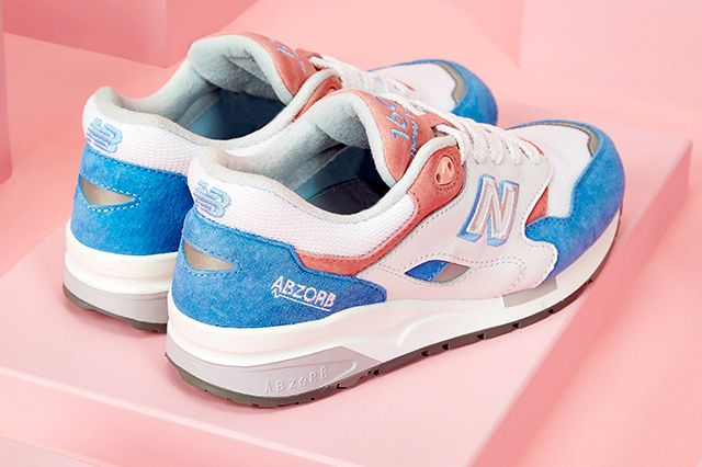 New Balance 1600 Marshmallow Blue Pink 3