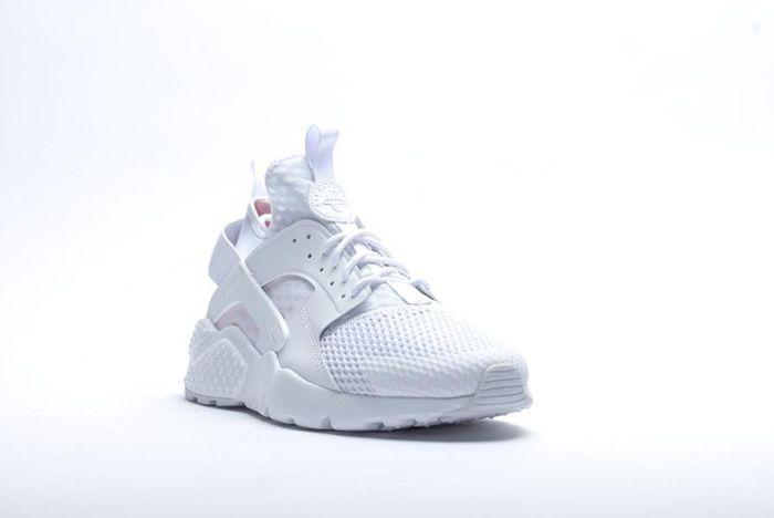 Nike Air Huarache Ultra Br Triple White 3