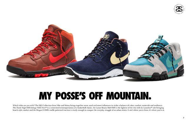 Nike X Stussy Ss Off Mountain Series Footwear 1