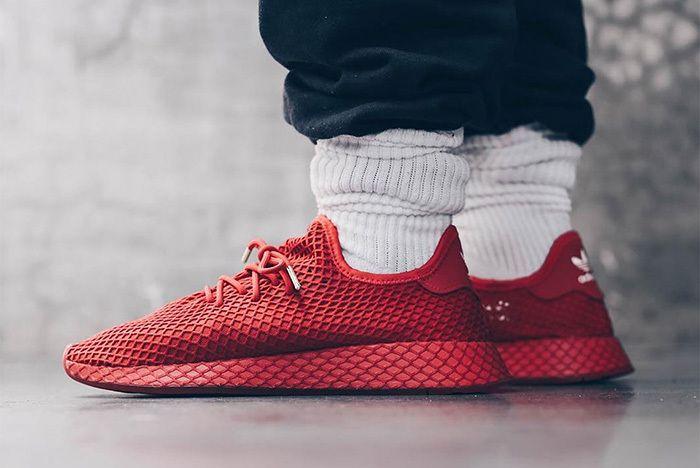 Atmos Adidas Deerupt Red 1