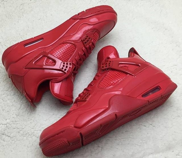 Air Jordan 4 Lab 11 Red 1